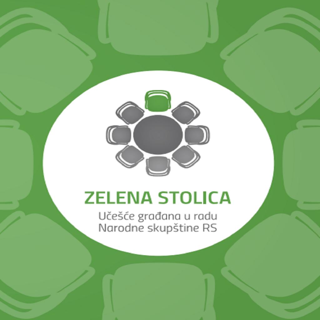 zelena stolica foto cover